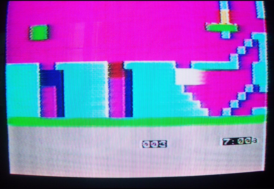 "Screenshot aus ""Jet Set Willy Variations c1984"""
