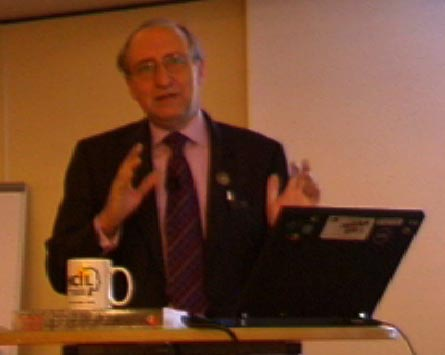 Ben Shneiderman on November 3th 2005 in Bremen