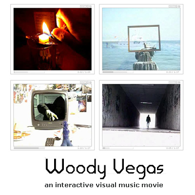Woody Vegas - an interactive visual music movie